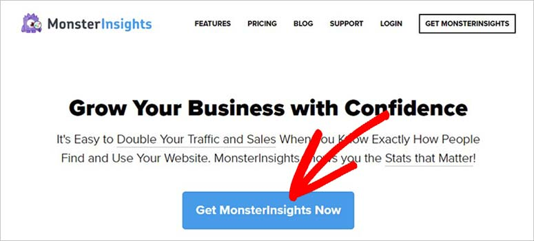 Get MonsterInsights now