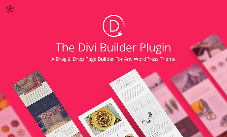 divi builder, website builder