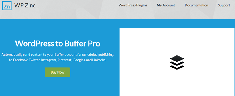 wordpress to buffer pro