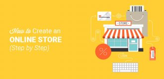how to create an online store