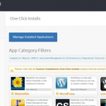 dreamhost one-click installs
