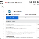 InMotion review install wordpress
