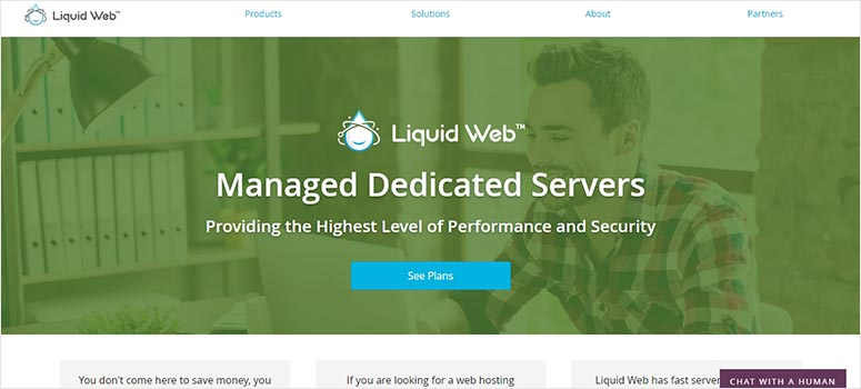 Liquid Web Dedicated Server Hosting