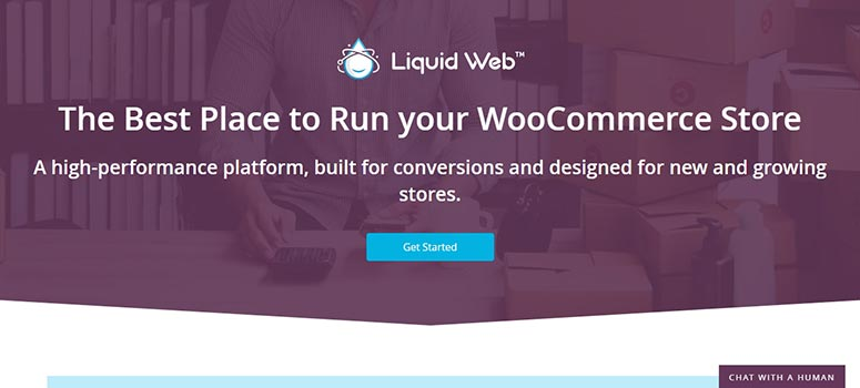 Liquid Web WooCommerce Hosting
