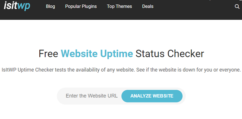 website uptime status checker