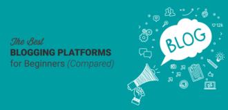 best blogging platforms compared