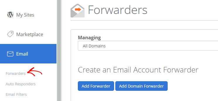 email-forwarders