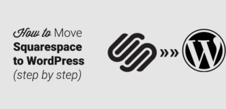 how to move from squarespace to wordpress