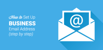 set up business email address