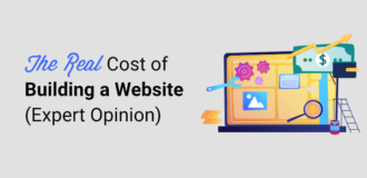the real cost of building a website