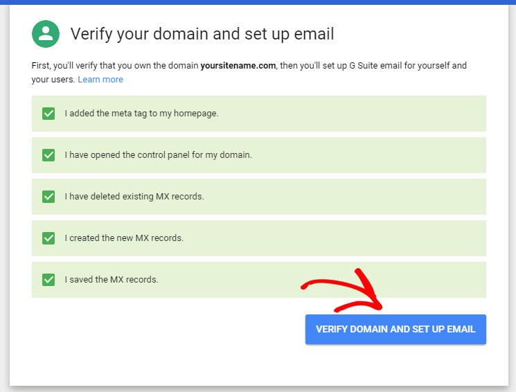 verify-domain-set-up-email