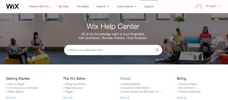 wix=-help-center