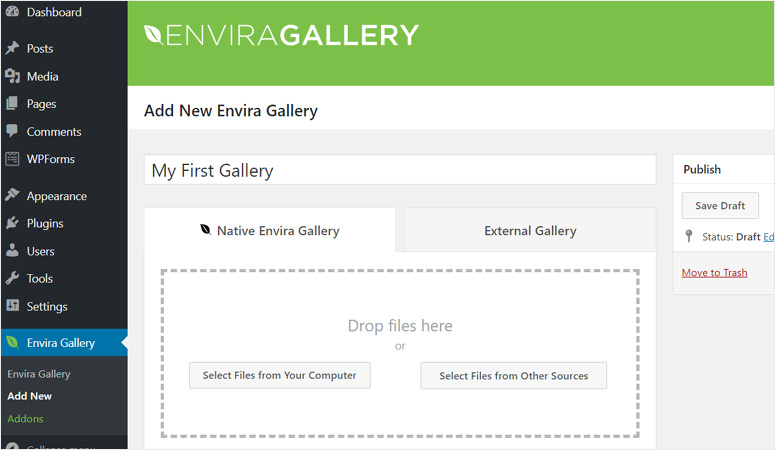 add-new-envira-gallery