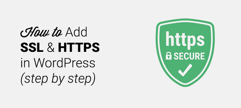add ssl and https in wordpress