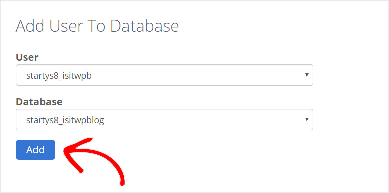add-user-to-database-bluehost
