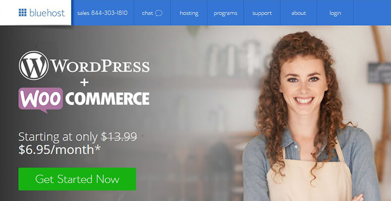 Bluehost for WordPress and WooCommerce
