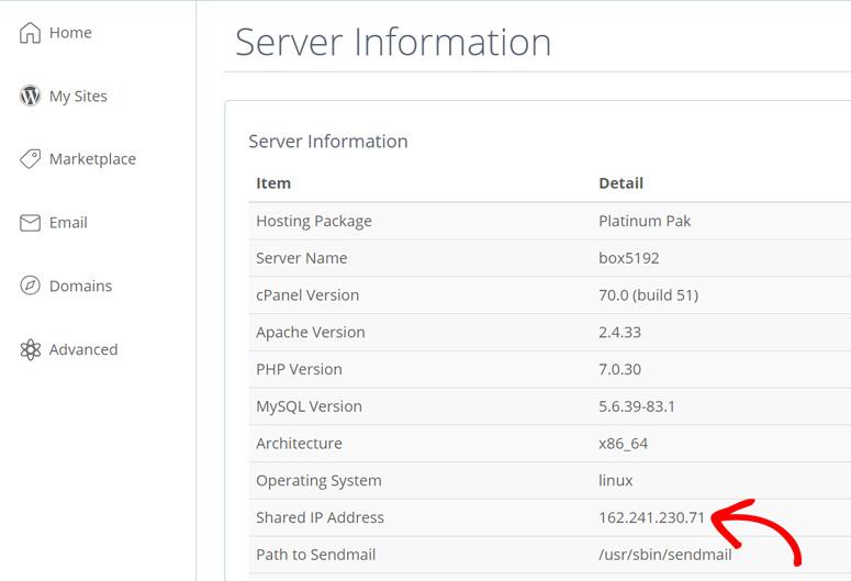 host-ip-address