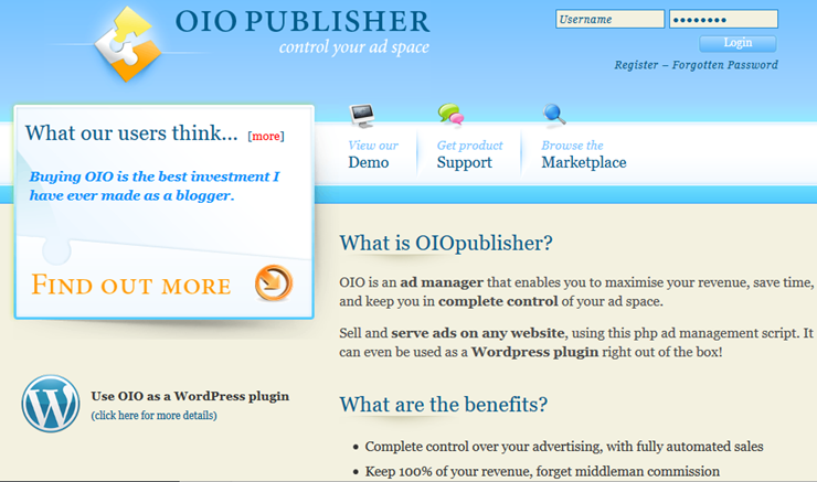 oio publisher