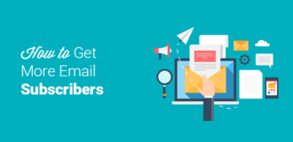 tips to get more email subscribers
