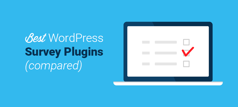 best wordpress survey plugins compared