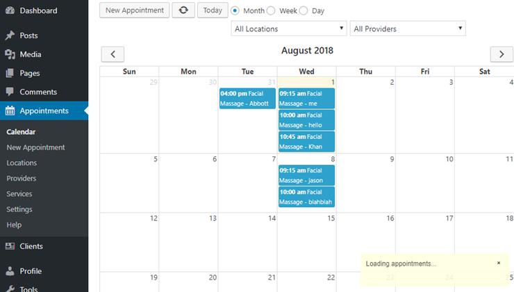calendar birchpress
