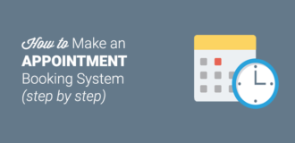 how to make appointment booking system