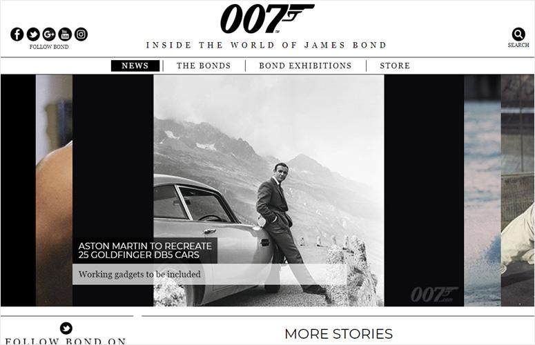 james-bond-official-site