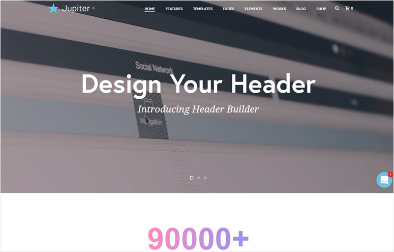 jupitor-wordpress-theme