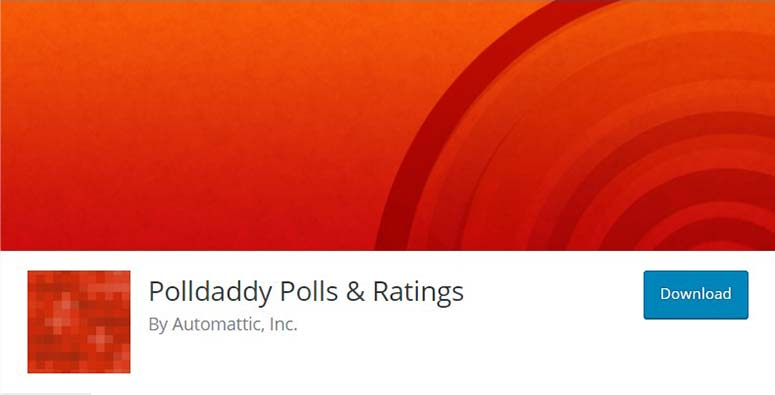 PollDaddy Polls and Ratings