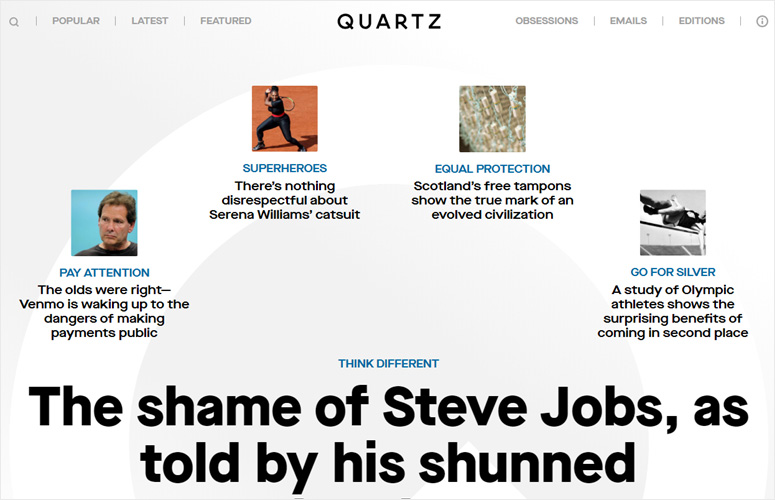 quartz-website