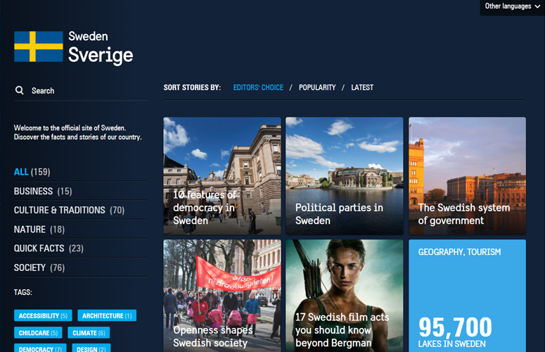 sweden's-official-site