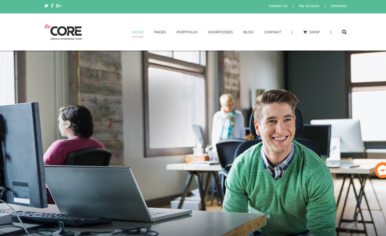 the-core-wordpress-theme