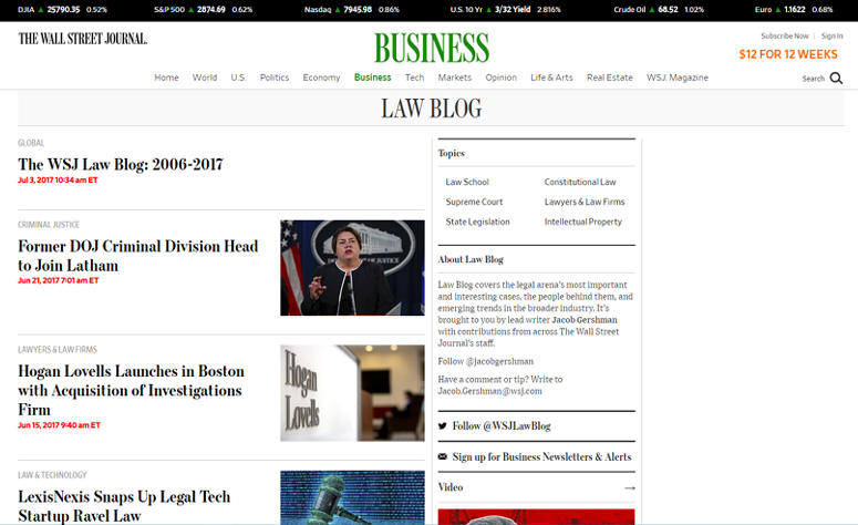 the-wall-street-journal-law-blog