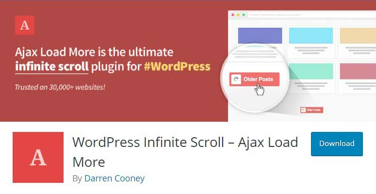 WordPress Infinite Scroll