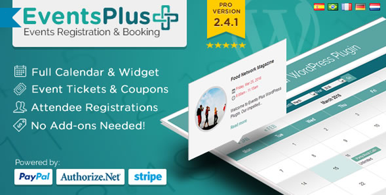 EventsPlus Registration and Booking