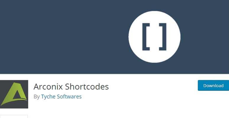 Arconix Shortcodes