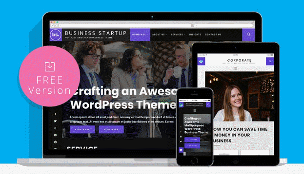 business startup theme