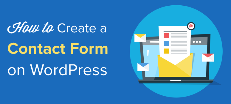 create a contact form on wordpress