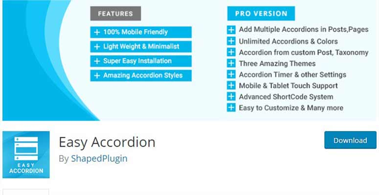 Easy Accordion
