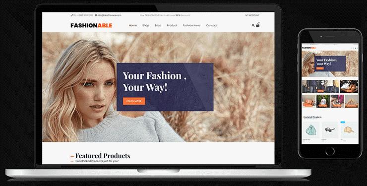 negozio alla moda
