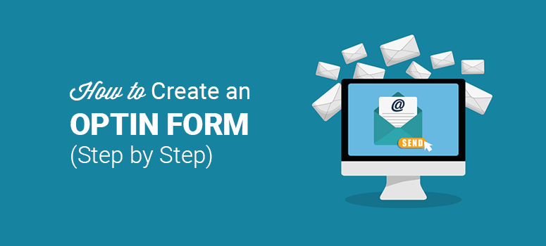 how to create an optin form