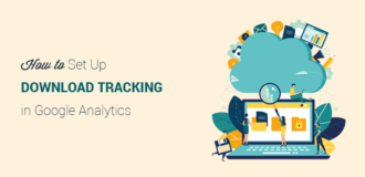 How to set up download tracking in WordPress with Google Analytics