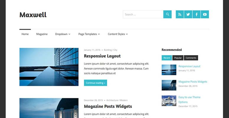 free blogger templates for writers