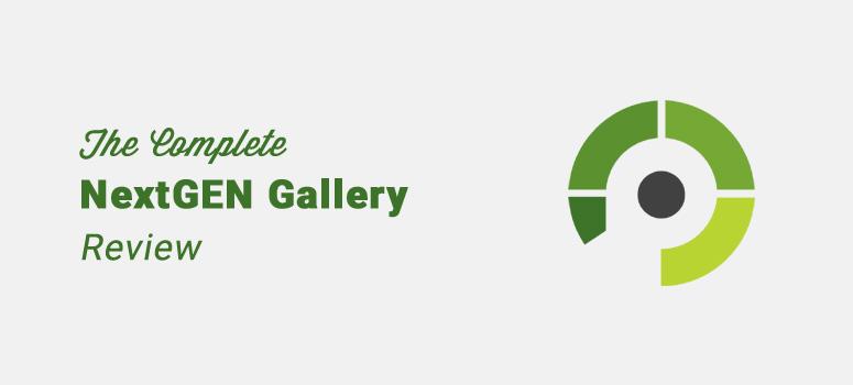 nextgen gallery wordpress plugin review