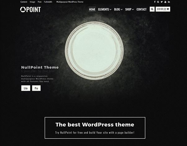 nullpoint theme