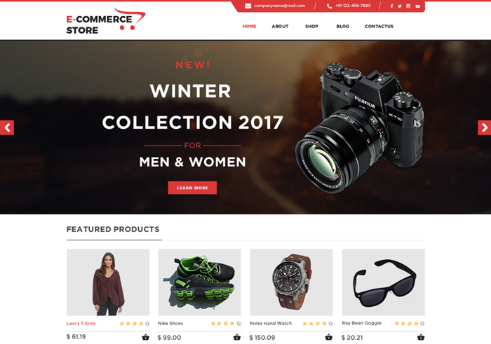 tc ecommerce shop