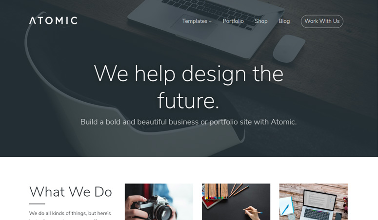atomic-wordpress-theme