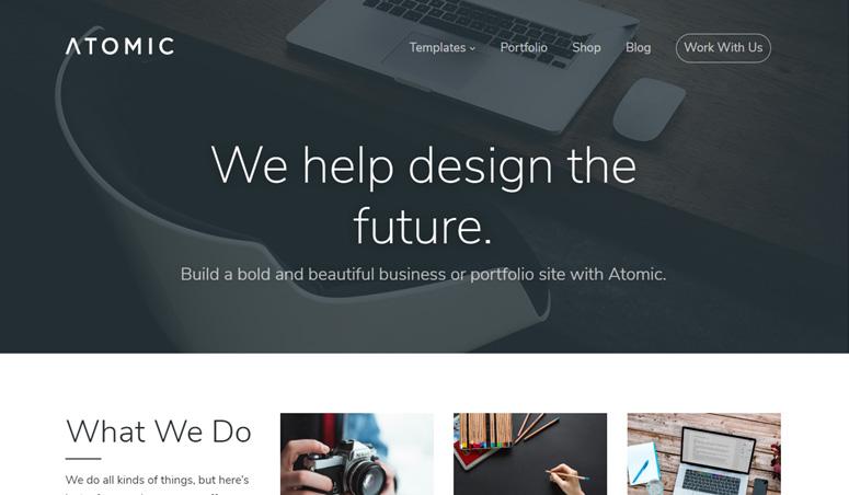 atomic-wordpress-theme