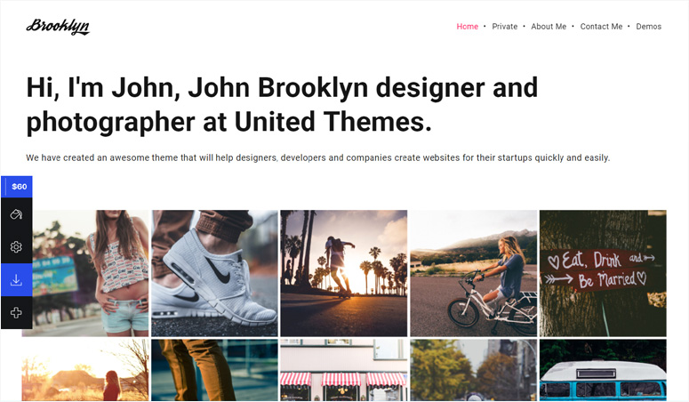 brooklyn-theme-photography-site
