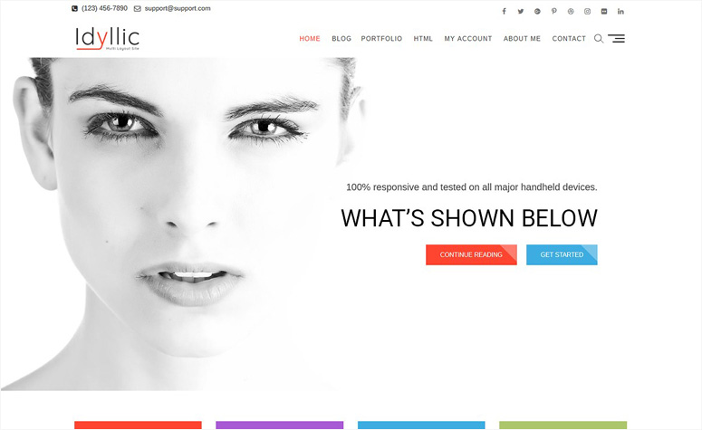 idyllic-wordpress-theme